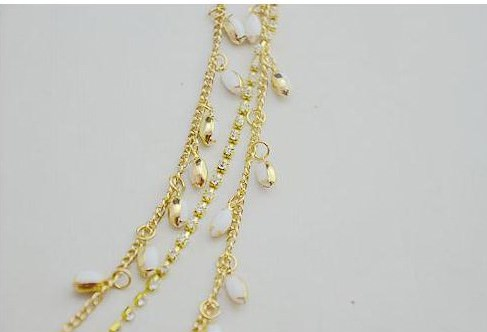 8875-7134543b5093f50a8378f86e97b6c8d9 Elegant Gold Plated Bridal Chain Head Jewelry With Rhinestone Gems