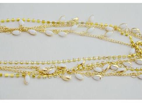 8875-ebfc6215cb6187aa95b7f6848929f6e7 Elegant Gold Plated Bridal Chain Head Jewelry With Rhinestone Gems