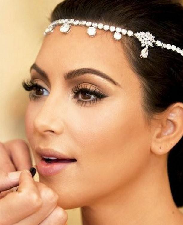 8876-71f5057642bb913fd6bfbb64c9cab065 Bridal Crystal Chain Head Jewelry With Teardrop Rhinestone Pieces