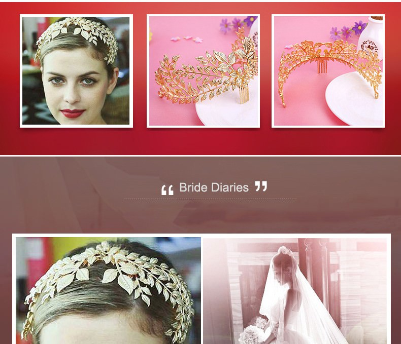 8877-120e9ffd94bbed95b64b5698e13cb88d Vintage Athenian Golden Laurel Wreath Head Jewelry