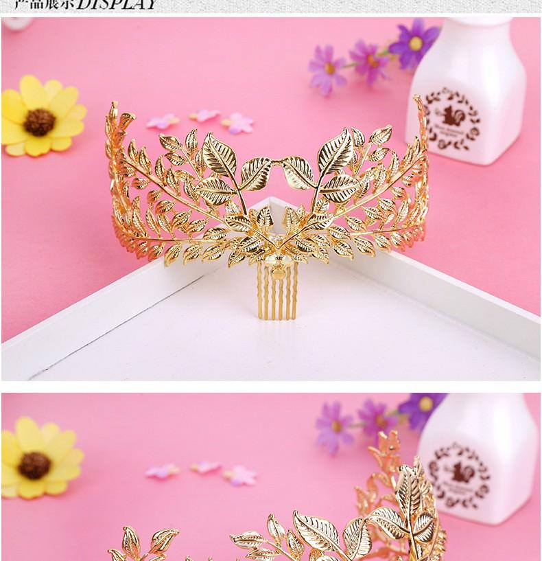 8877-76645b94e09581f4b607986646dba1fd Vintage Athenian Golden Laurel Wreath Head Jewelry