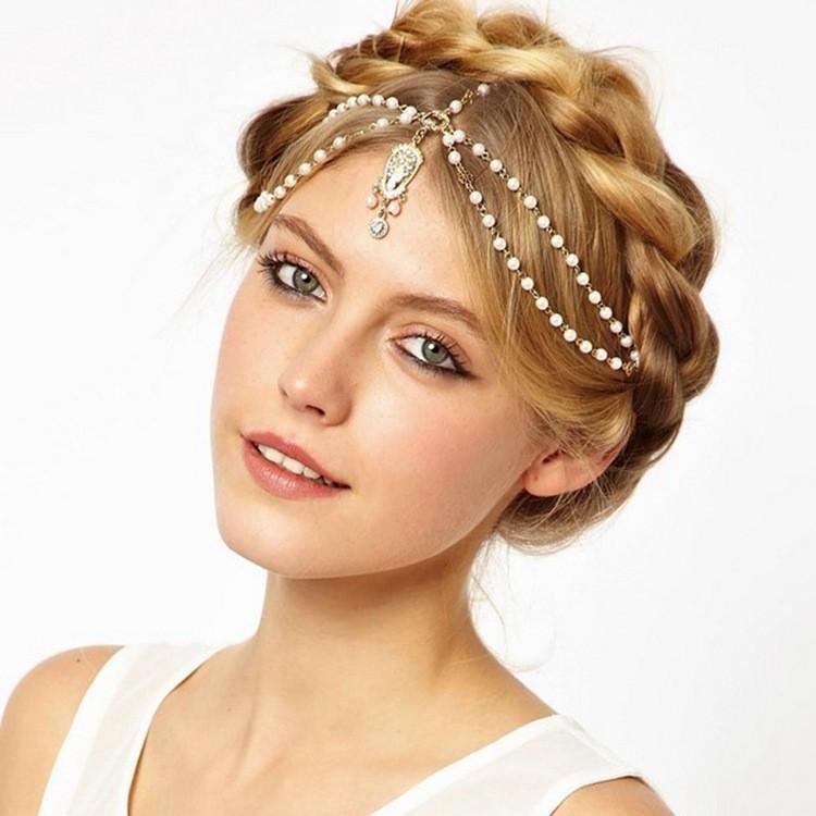 Metal Headchain; Women/'s Headchain; Unique Festival Headbands; Festival Accessory; Women/'s Headband; Hair Jewelry; AB Rhinestone Headband