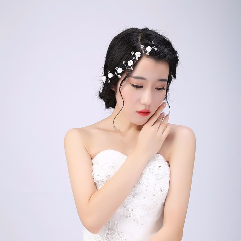 8889-6fc657fbafe648cea8d215db3345586e Handmade Bridal Floral And Crystal Head Jewelry