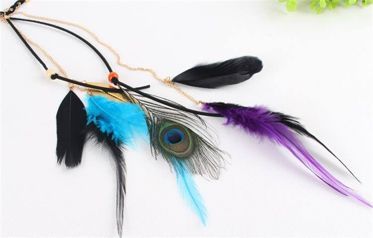 8890-3e13fb0924b2ba40a5a95f2923479f3d Beautiful Indian Head Jewelry With Peacock Feather Accent