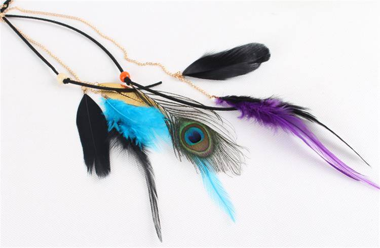 8890-e324e4235d187b4d89f94cca28a1285b Beautiful Indian Head Jewelry With Peacock Feather Accent