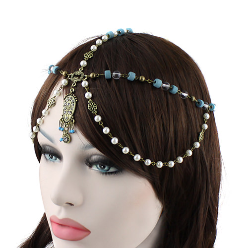 8891-51f8014bec29e48575850c5e9636a1d1 Bohemian Inspired Head Jewelry With Beads, Pearls And Rhinestones
