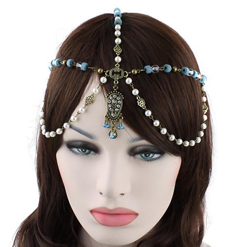 8891-5534de67b5804f2738fdacdbce9d615a Bohemian Inspired Head Jewelry With Beads, Pearls And Rhinestones