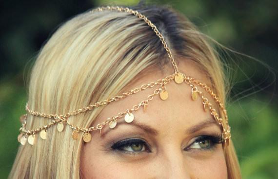 8892-9e8a4b0d8f81267681d0e07b7210adbd Boho Style Chain With Coin Pendant Head Jewelry
