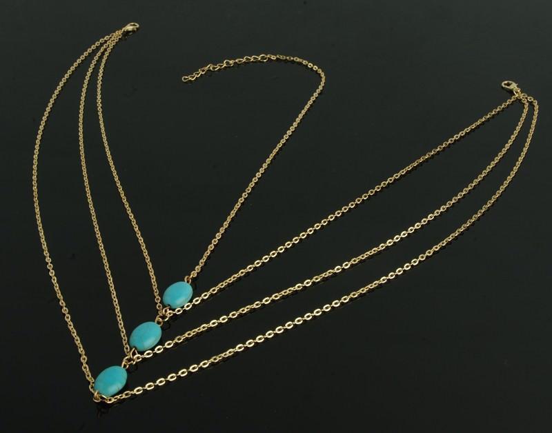 8893-e749187c8d248b2d3215b019d8cf0da9 Multilayer Boho Head Jewelry Chain With Turquoise Pendants