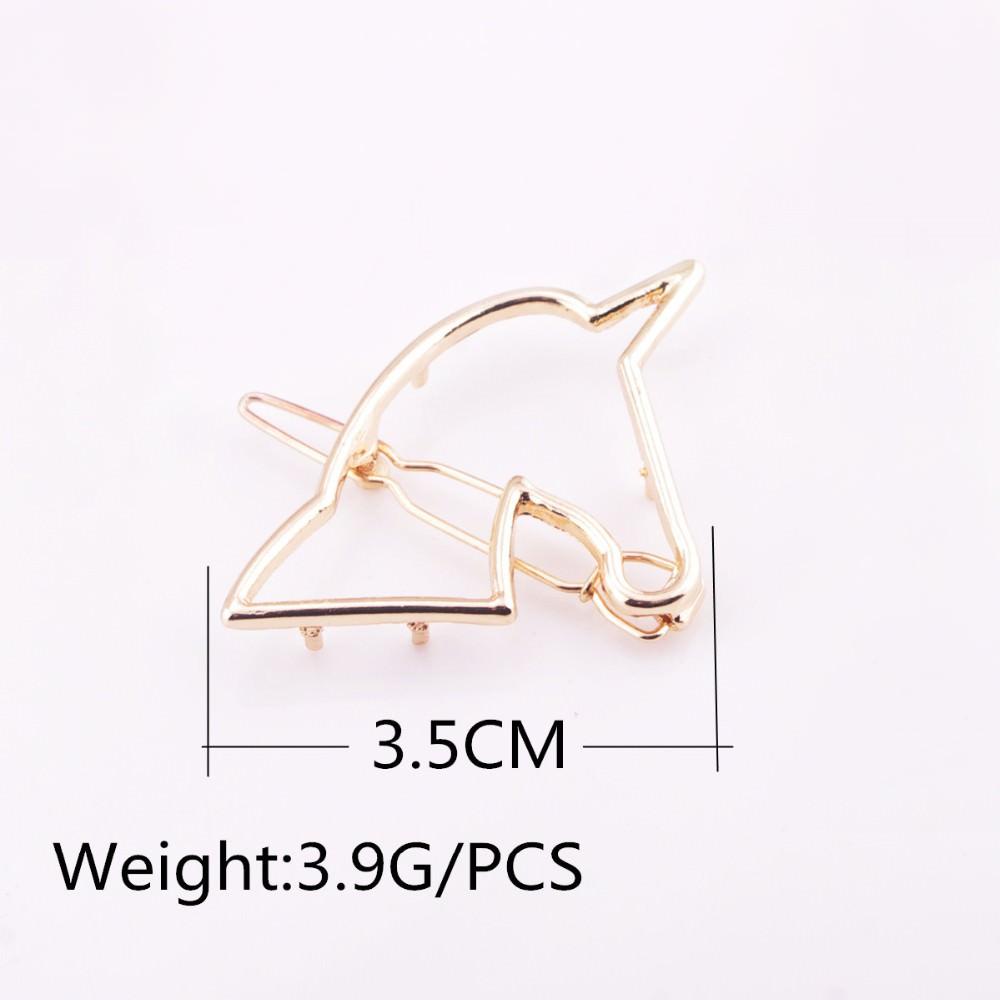 8898-323ae1c2194f9dbd25a76b5c32710a0b Unique Hollow Unicorn Hair Clip Head Jewelry For Women