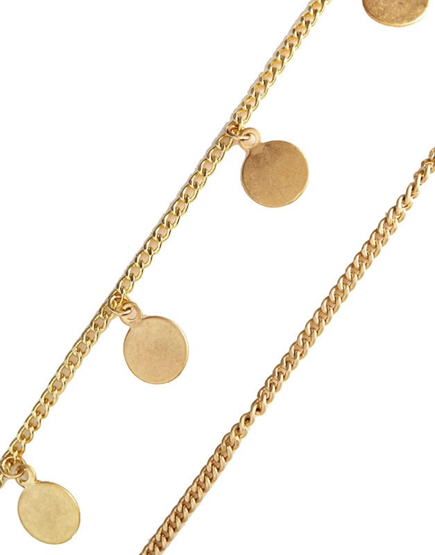 8899-969c11430a3be3b503bbaf27d6d8e14d Gypsy Two Layered Chain Head Jewelry With Coin Pendants