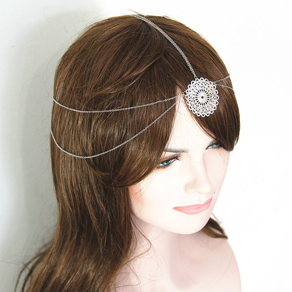 8910-3bd705408702d625106d2aaad4f2a0dd Vintage Head Chain Jewelry With Mandala Accent Piece