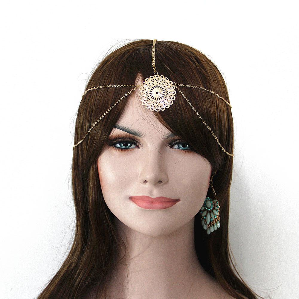 8910-5255526c63b241066841116b4aca59bf Vintage Head Chain Jewelry With Mandala Accent Piece