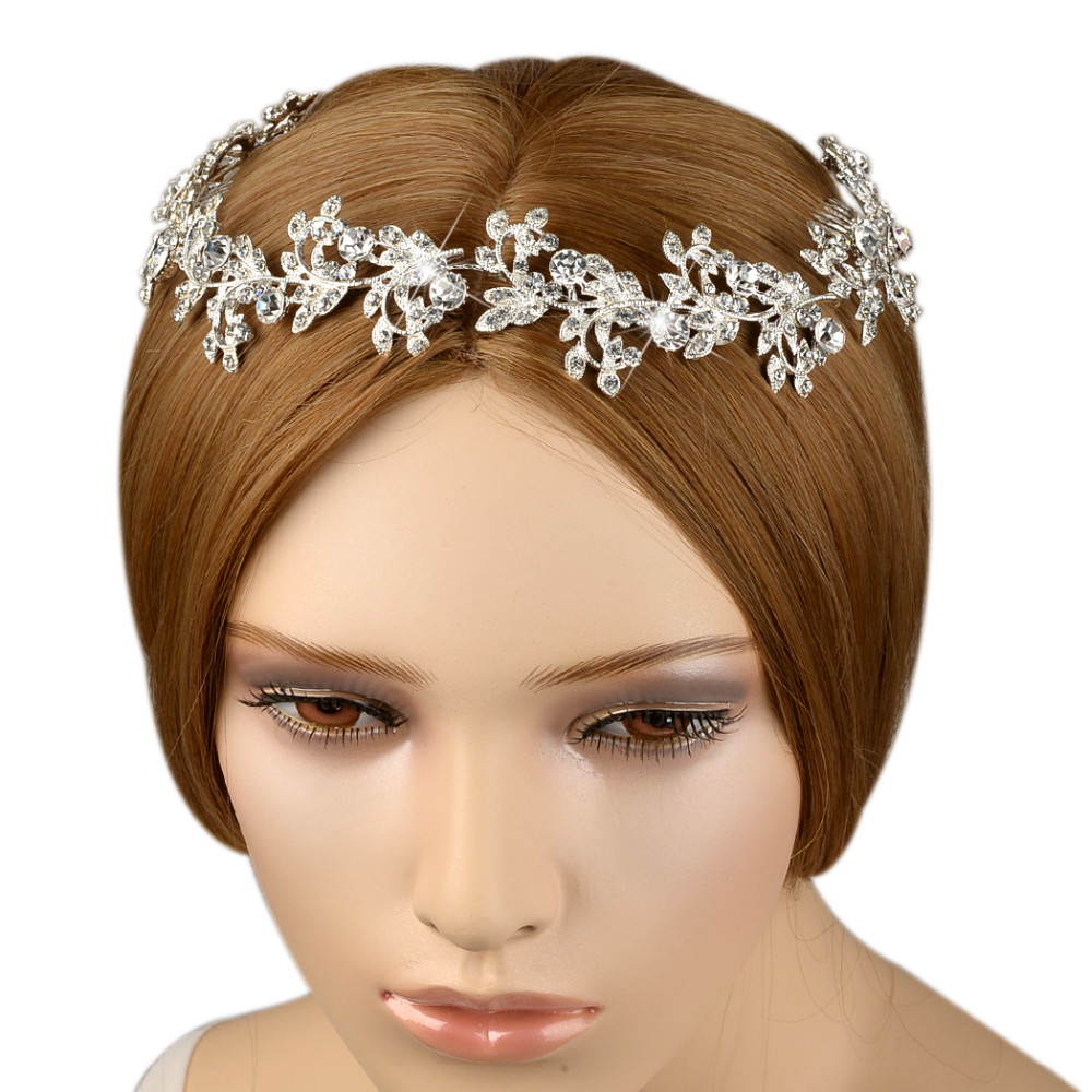 8912-a6a8639561b829e2169faa67d3aebfe8 Vintage Spring Flower Bridal Hair Comb Head Jewelry