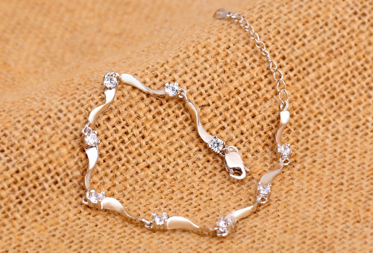 Simple Elegant Crystal Bracelet Jewelry For Women