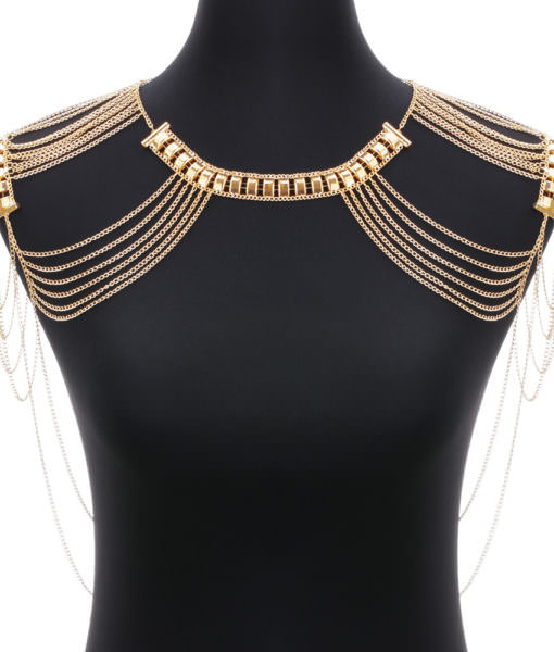 Classic Style Jewelry Statement Necklace Body Chain Shoulder Chain