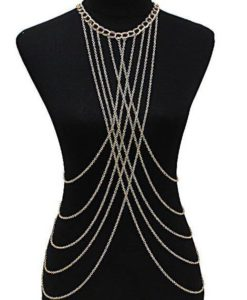 Sexy Long Body Chain Drape Jewelry Necklace