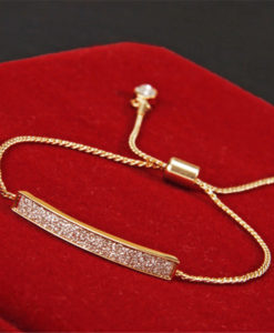 18K Gold/Silver Plated Chain Bracelet