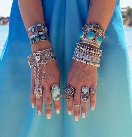 Gold Plated Coachella Bracelet