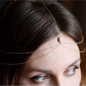 Bridal Bijoux Head Jewelry Chain