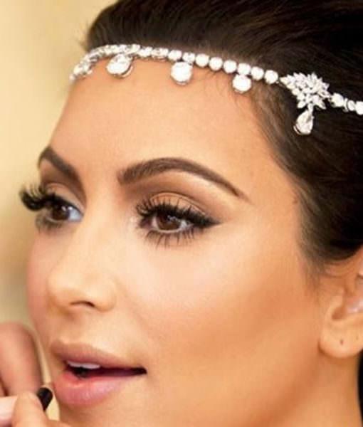 Bridal Crystal Head Chain