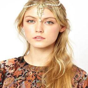 Imitation Pearls Tassel Charms Head Jewelry