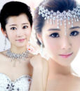 Crystal Floral Bridal Head Jewelry