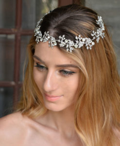 Spring Flower Bridal Hair Comb