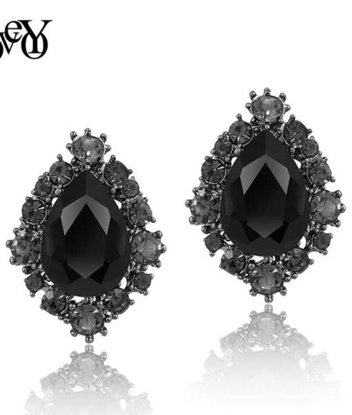 AAA Cubic Zirconia crystal earring