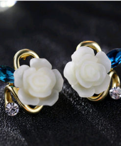 Korean Flower Earrings