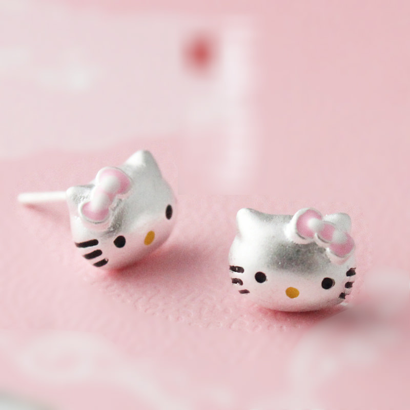 Cute nose studs hello kitty