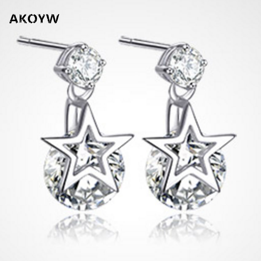 Shiny Star Fashion Jewelry Earrings