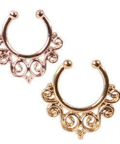 Fake Septum Nose Ring Jewelry