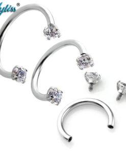 Rhinestone Nose Rings
