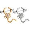 Elegant Scorpion Nipple Shield Body Jewelry With Rhinestones
