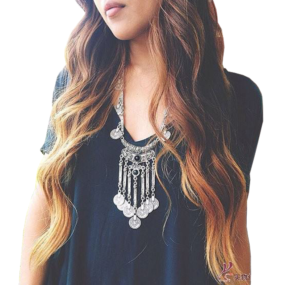 Long-Bohemian-Antique-Silver-Coins-and-Tassels-Necklace-For-Women Body Chain Store