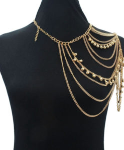 One-Shoulder-Multiple-Layered-Body-Chain-Necklace-247x300 Body Chain Store