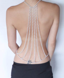 Sexy-Bridal-Pearl-Backdrop-Body-Chain-Necklace-Jewelry-247x300 Body Chain Store