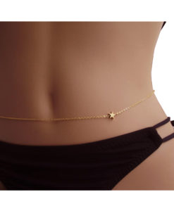 Simple-European-Belly-Chain-Jewelry-With-Star-Shaped-Accent-247x300 Body Chain Store