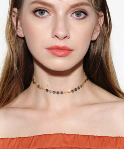 vintage choker necklace feature