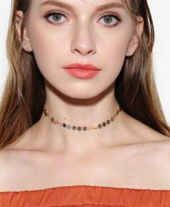 vintage choker necklace feature