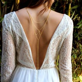 back chain necklace