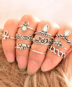10-Pieces-Unique-Vintage-Carved-Spirituality-Knuckle-Ring-Set-For-Women-–-2-Colors-247x300 Latest on Sale