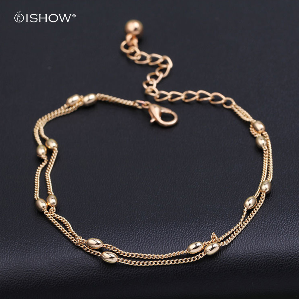 Women's Fashionable Ankle Bracelet Foot Jewelry - 3 Styles