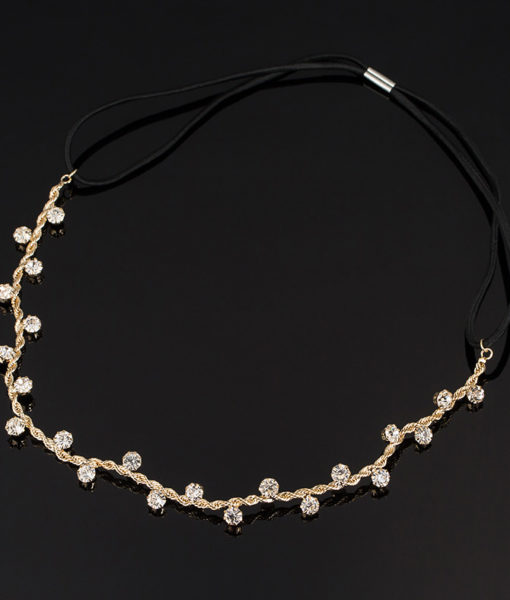 Crystal Bejeweled Women's Hair Band