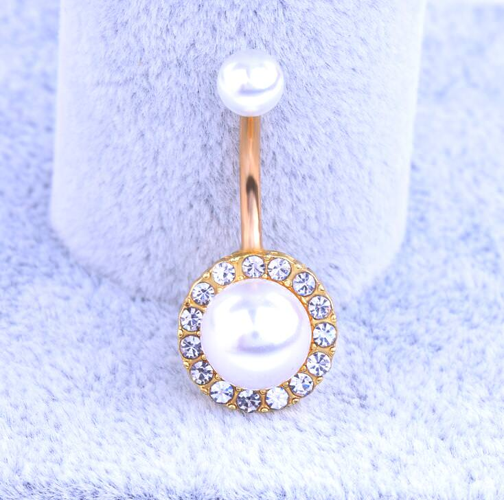 Exquisite Body Piercing Jewelry Party Navel Ring - 18 Styles