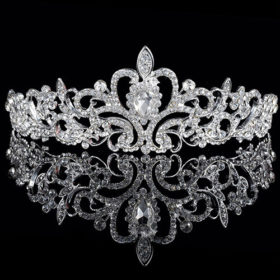 Luxurious Europe Style Diamante Rhinestone Crystal Bridal/Party/Pageant/Cosplay Crown Tiara For Women