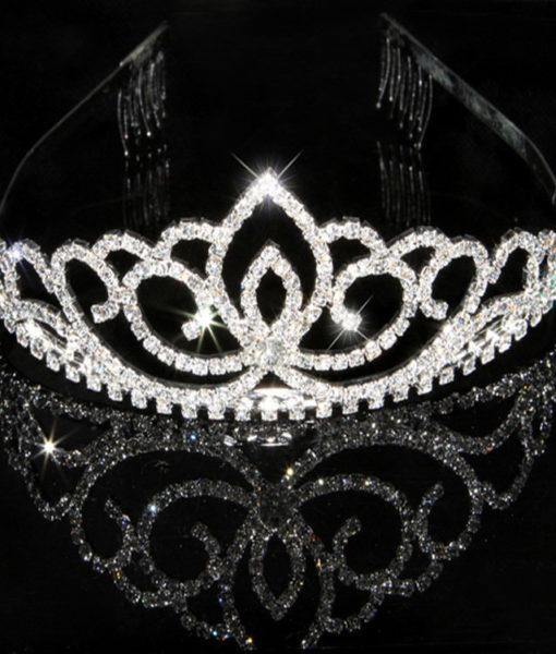 Brilliant Bridal/Prom/Cosplay Rhinestone Crystal Crown - 18 Styles