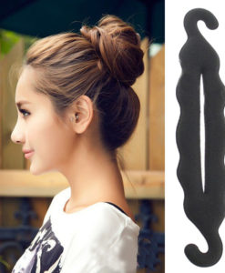 Magic Foam Sponge Hair Disk Styling Tool For Bun Hair Style