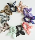 Cute Polka Dot Rabbit Ears Hair Tie For Women - Various Styles